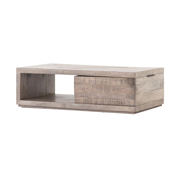 Fidelis Coffee Table Weathered Salvage Grey