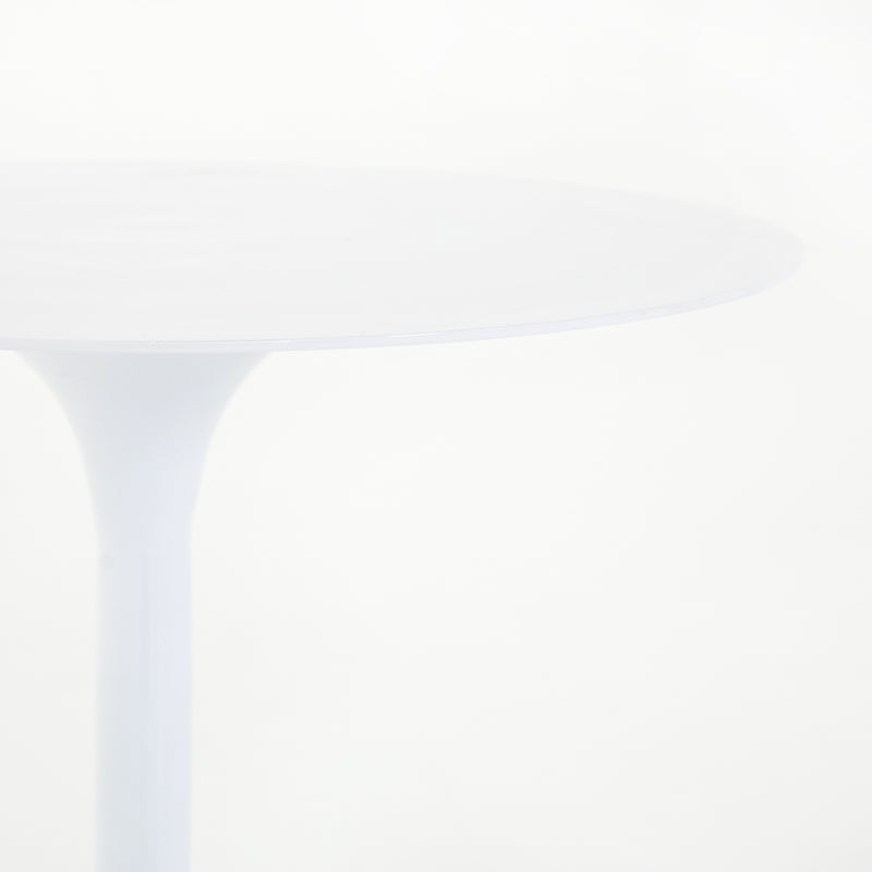 Norville End Table White Aluminum