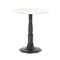 Jasalin End Table Carbon Wash, White Marble