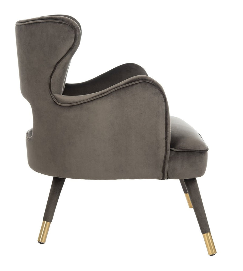 Thelma Wingback Arm Chair Shale