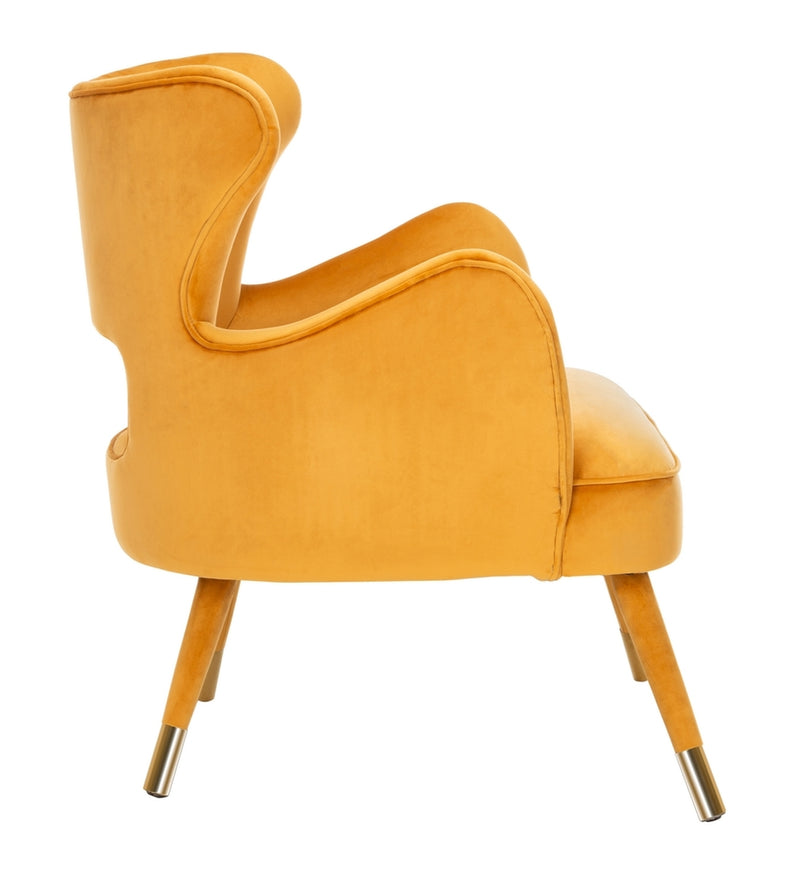 Thelma Wingback Arm Chair Marigold