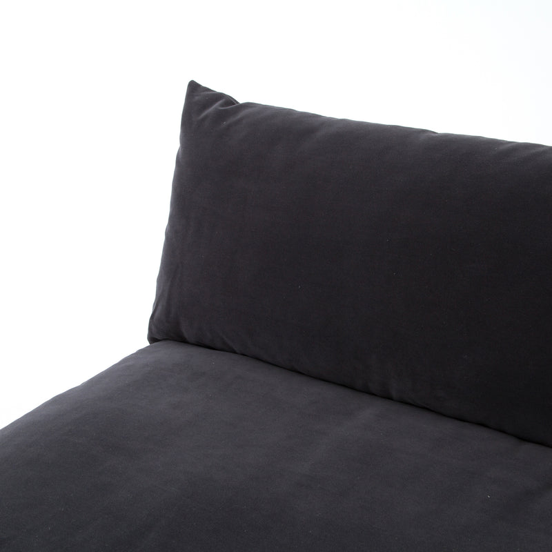 Agnes Sectional Henry Charcoal, Espresso