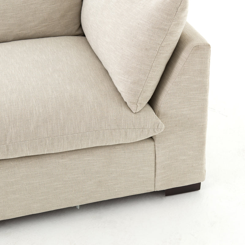 Agnes Sectional Ashby Oatmeal, Espresso