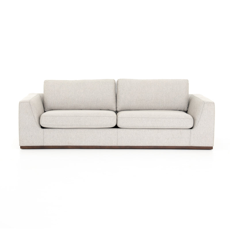 Foster Sofa Aldred Silver, Aged Sienna