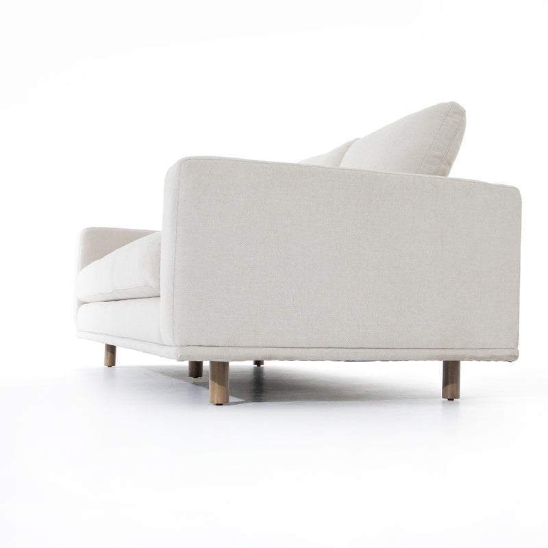 Braidon Sofa Weathered Umber, Bonnell Ivory