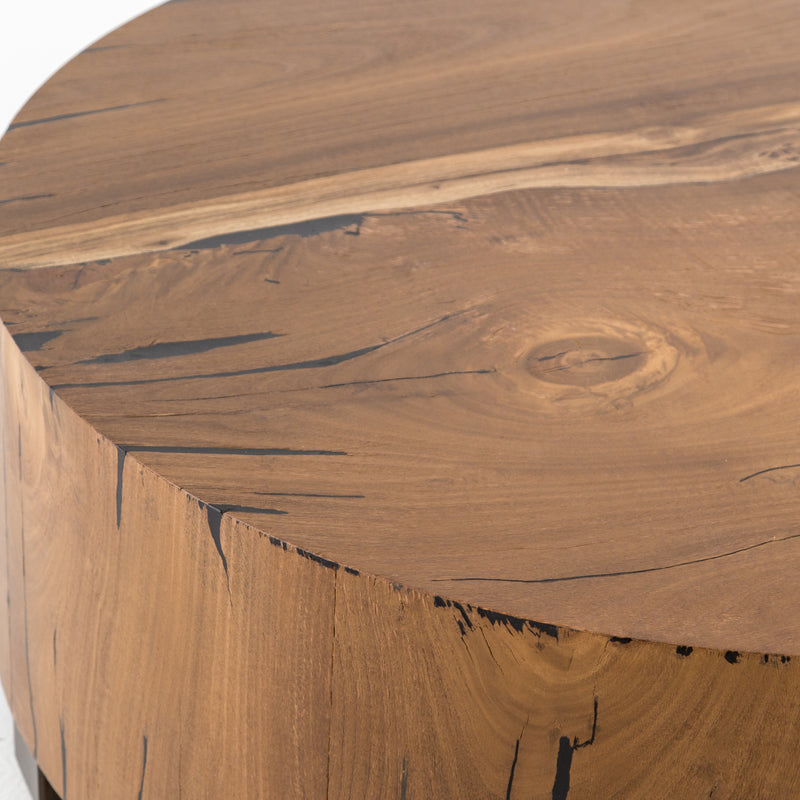 Galiano End Table Natural Yukas Resin