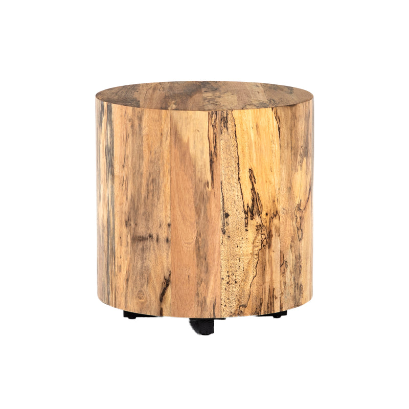 Galiano End Table Spalted Primavera