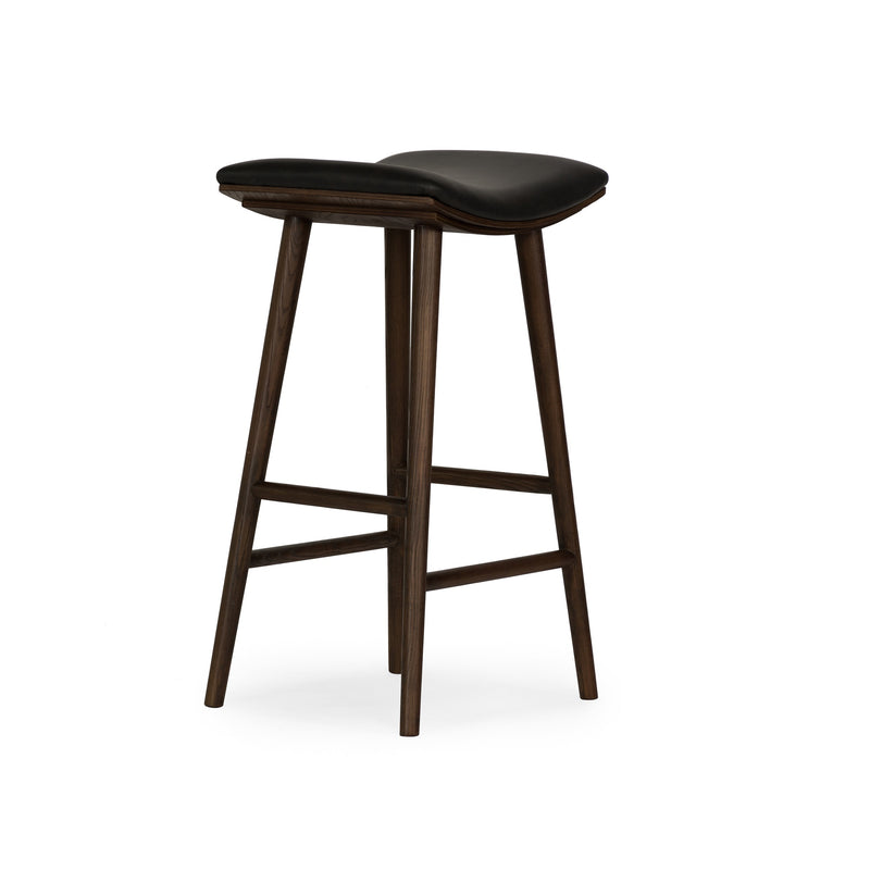Ricardo Barstool Warm Ash, Distressed Black
