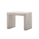 Hernan End Table Grey Concrete