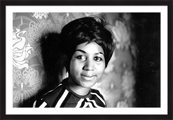 Aretha Franklin Framed Print