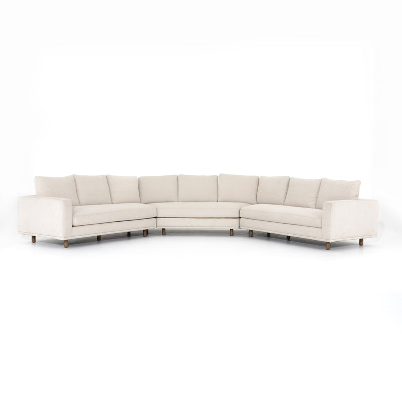 Donovan 3-Piece Sectional Large Wedge