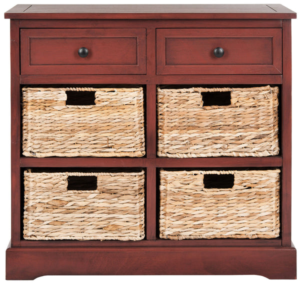 Mitzy Storage Unit Red