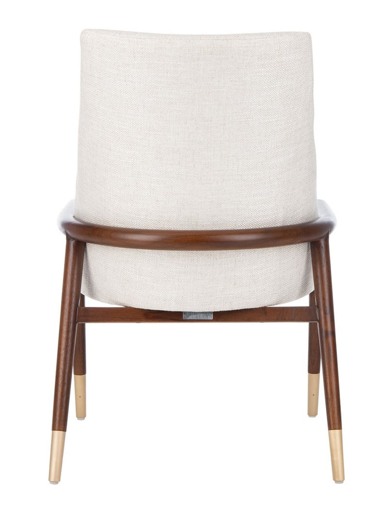 Carmyne Mid- Century Chair Cream Set of 2