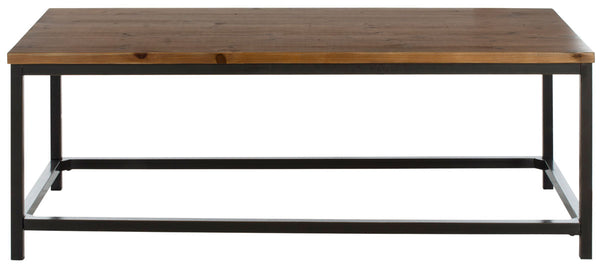 Jireh Coffee Table Brown Pine
