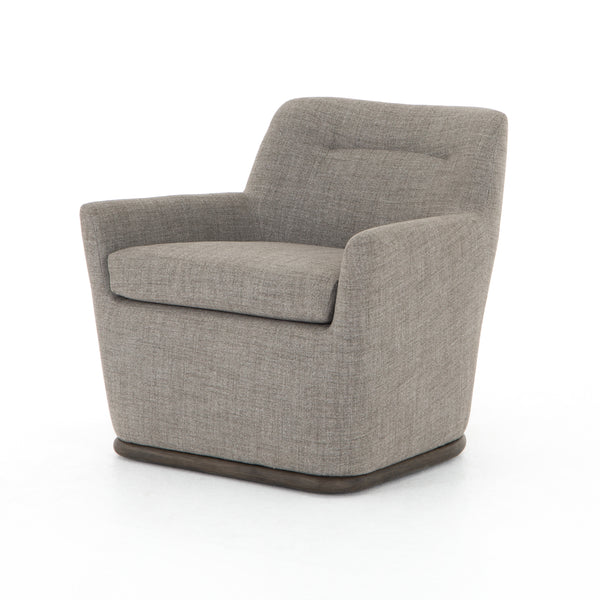 Romar Swivel Chair Highland Charcoal