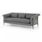 "Jewett Sofa 91"" Barron Smoke"