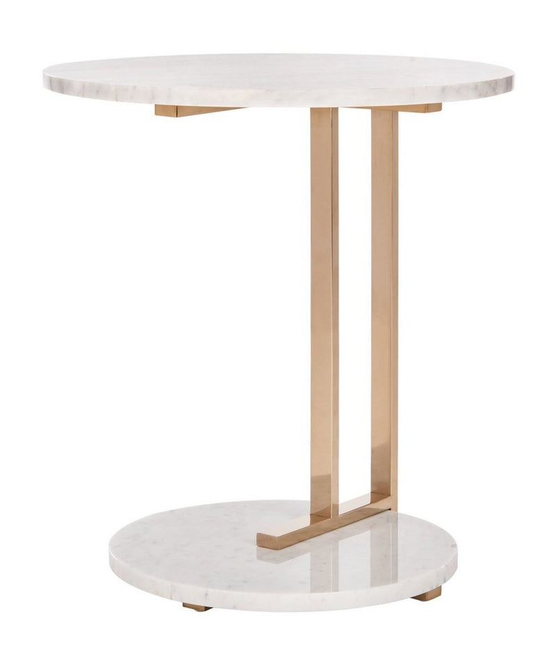 Basanti Marble End Table