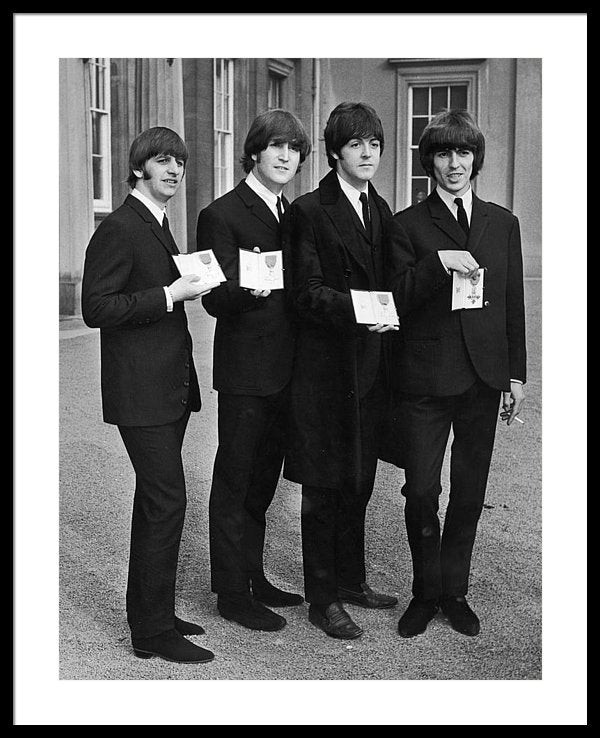 The Beatles Member of the Order of the British Empire award