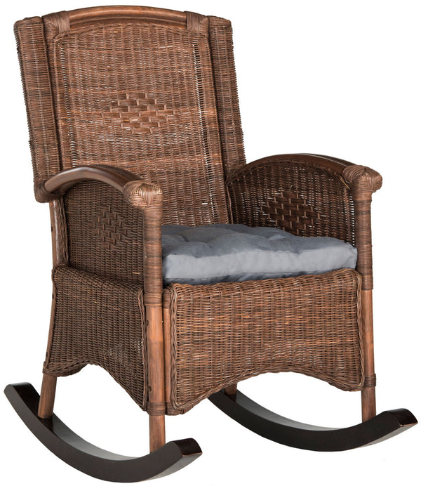 Rhonda Rocking Chair Brown