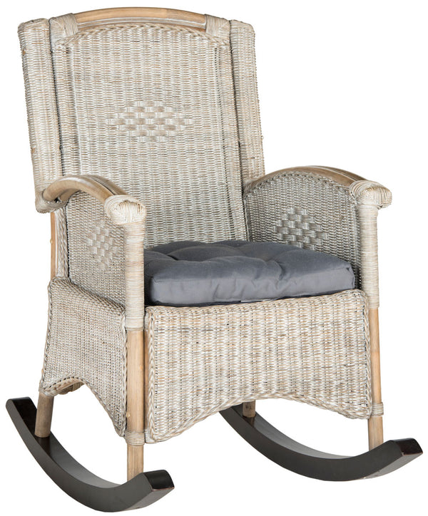 Rhonda Rocking Chair Antique Grey