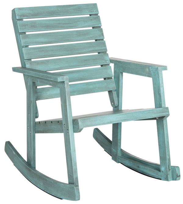 Lexie Rocking Chair Beach House Blue