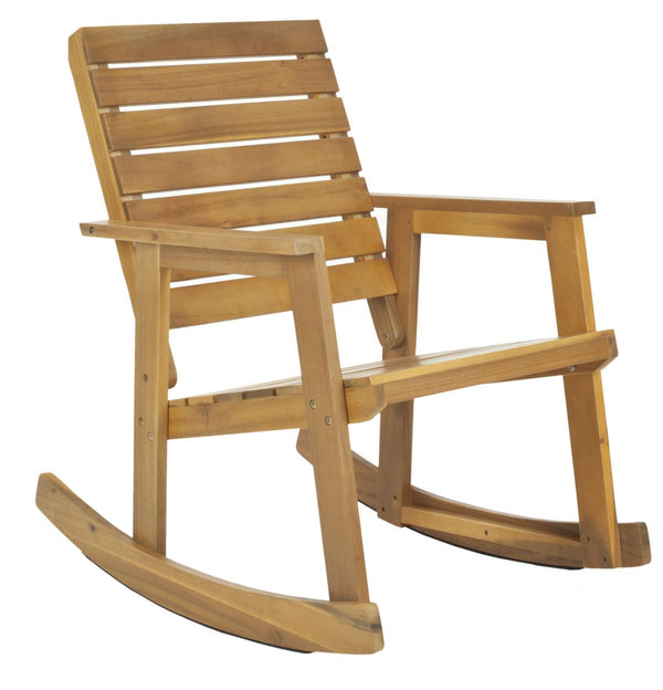 Lexie Rocking Chair Natural Brown