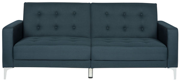 Haley Foldable Sofa Bed Navy
