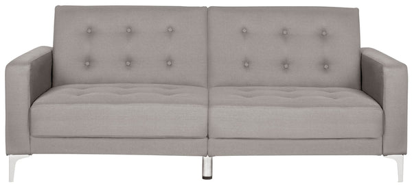 Haley Foldable Sofa Bed Grey