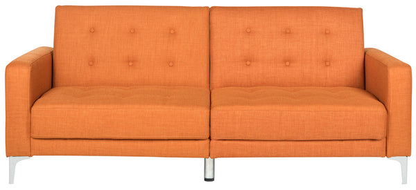 Haley Foldable Sofa Bed Orange