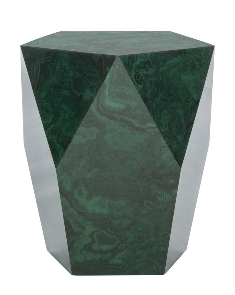 Boyce Malachite End Table