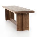 Mason Bench Dark Smoked Oak