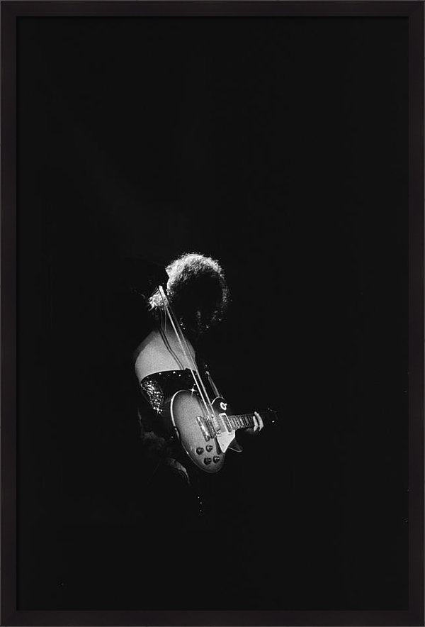 Jimmy Page At The Forum Framed Print