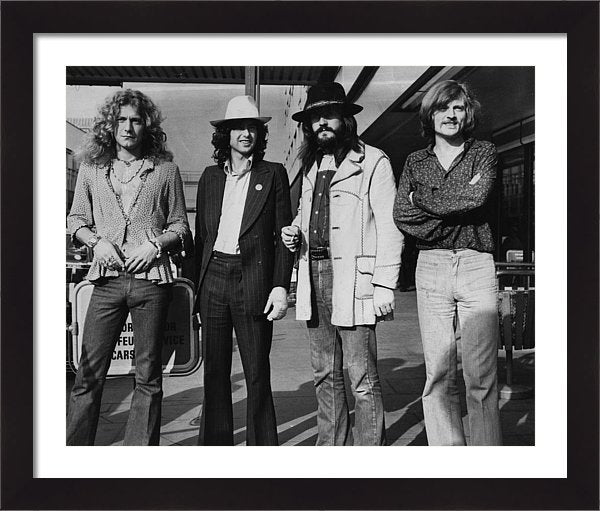 Led Zeppelin Framed Print