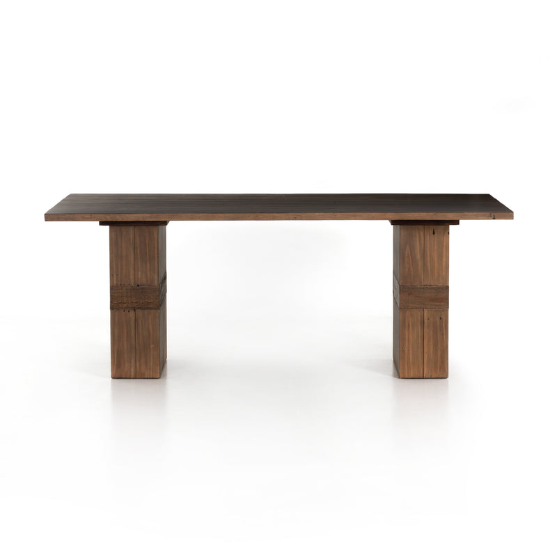 Burly Dining Table Toasted Mixed Reclaimed