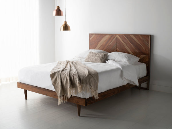 Kalmia Herringbone King Bed