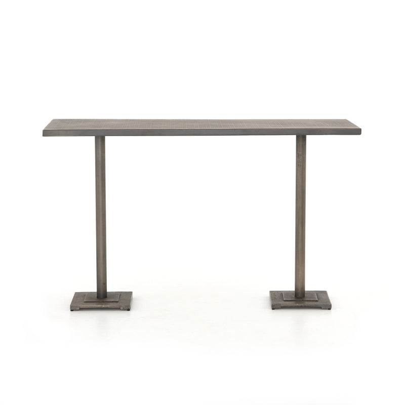 Melody Large Counter Table Antique Nickel