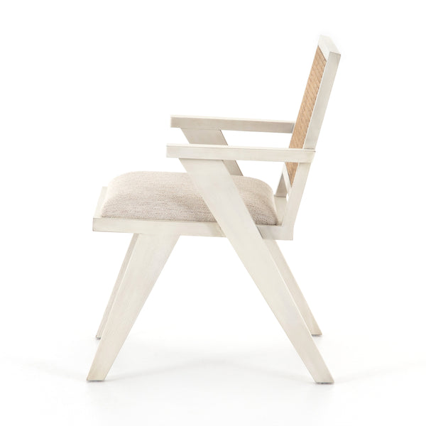 Shaun Dining Chair Distressed Cream