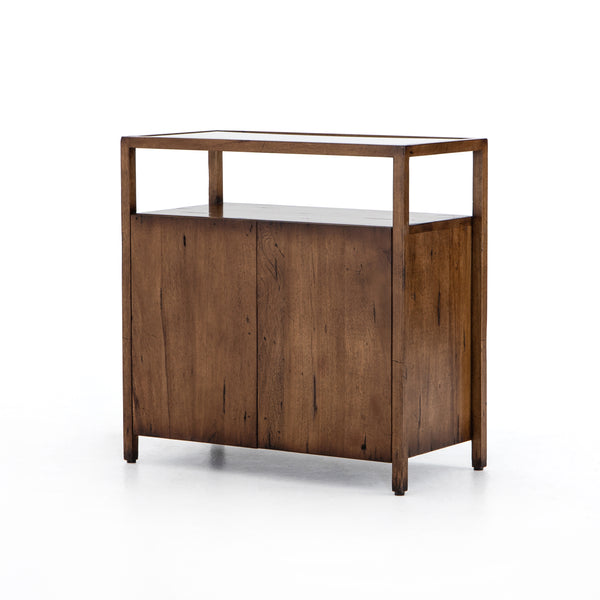 Pebble Bar Cabinet Reclaimed Fruitwood