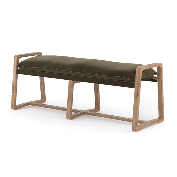 Theodore Bench Olive Green