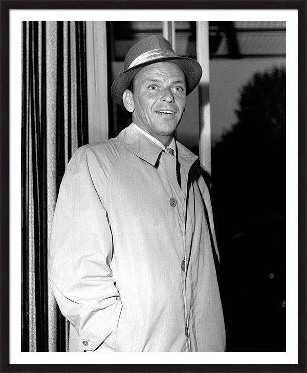 Photo Of Frank Sinatra Framed Print