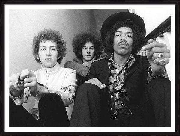 Photo Of Noel Redding And Jimi Hendrix Framed Print