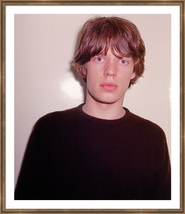 Mick Jagger of the The Rolling Stones' poses for a portrait in circa 1965