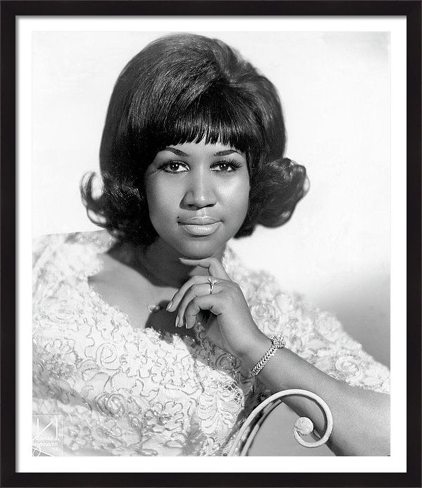 Aretha Franklin poses for a portrait in circa 1963