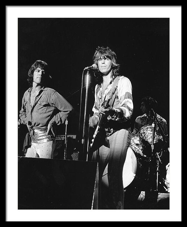 The Rolling Stones' perform onstage at Winterland on June 6, 1975