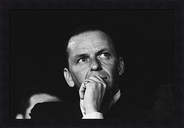 Sinatra Supports Kennedy Framed Print