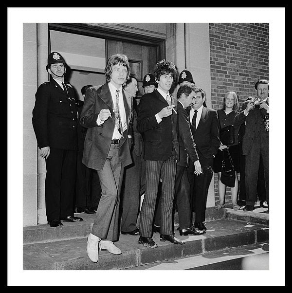 Mick Jagger outside Chichester Magistrates Court