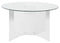 Farrah Acrylic Round Dining Table