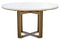 Isana Marble Round Dining Table