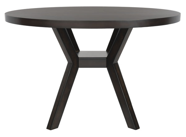 Keller Round Wood Dining Table