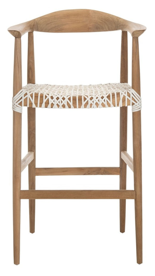 Justice Bar Stool set of 2 White
